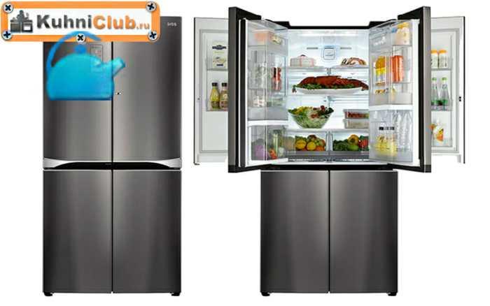 Холодильники-Door-in-Door-имеют-большой-объем