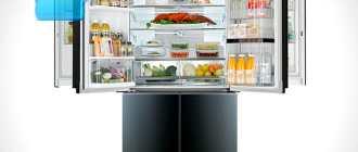 Холодильники-Door-in-Door