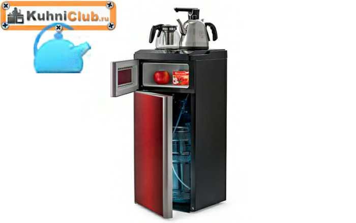 Кулер-с-холодильником-и-чайниками