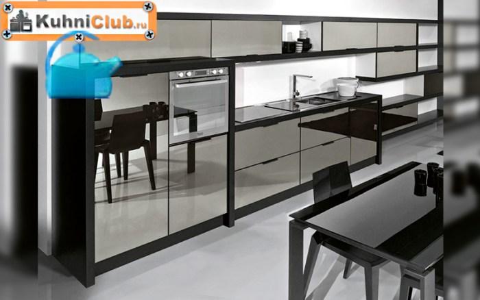 Зеркальный-кухонный-гарнитур