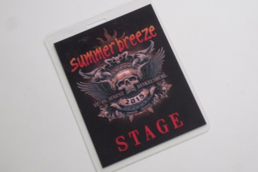 Summer Breeze Festival 2015 Stagepass