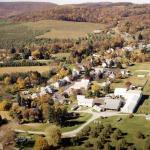 Cashtown family farm aerial view