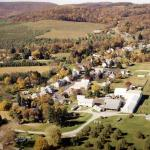 Cashtown family farm aerial view