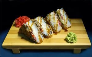 Суши сендвич с курицей