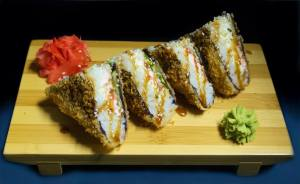 Суши сендвич с угрем