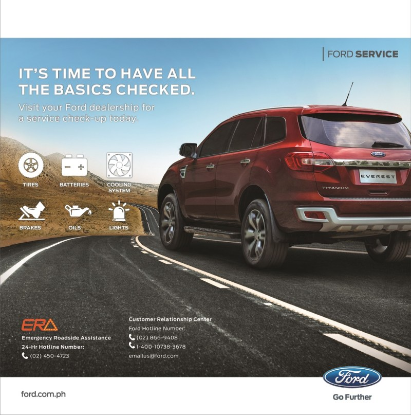 FORD Long Drive Ready