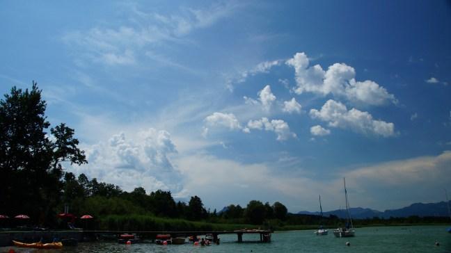 Kaiserwetter am Simssee