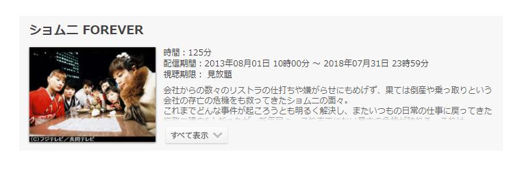 「ショムニ FOREVER(2003年)」の動画情報