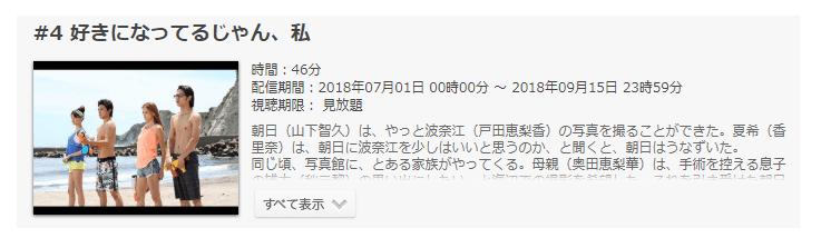 「SUMMER NUDE(サマーヌード)」第4話の動画のあらすじ