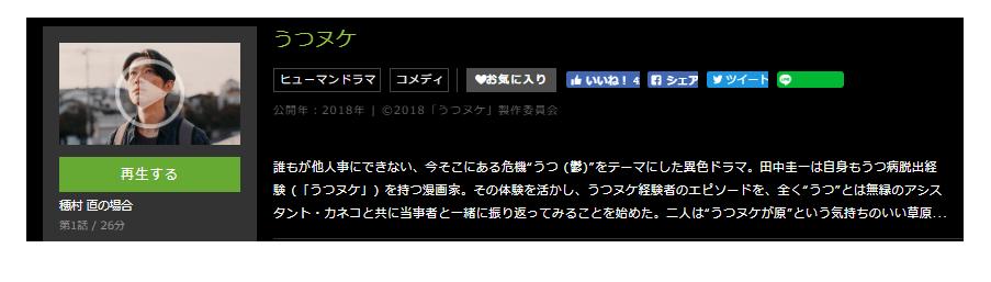 「うつヌケ」のドラマ動画(1話~6話)
