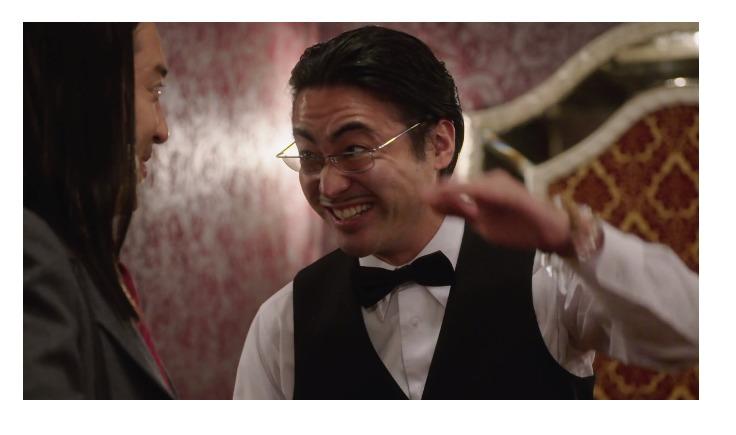実写ドラマ「今日から俺は」で特別出演した山田孝之