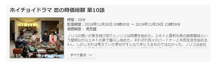 「ホイチョイドラマ 恋の時価総額」第10話(最終回)の動画のあらすじ