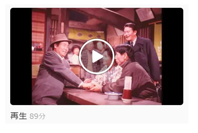 映画「男はつらいよ フーテンの寅(第3作)」の動画