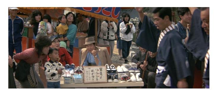第37作「男はつらいよ 幸福の青い鳥」で寅さんが啖呵売した商品「スニーカー」