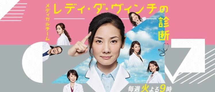 ドラマ「メディカルチーム レディ・ダ・ヴィンチの診断」の動画情報