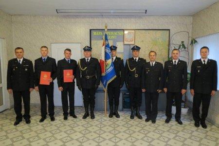 Ślubowanie nowych funkcjonariuszy KP PSP wBrodnicy