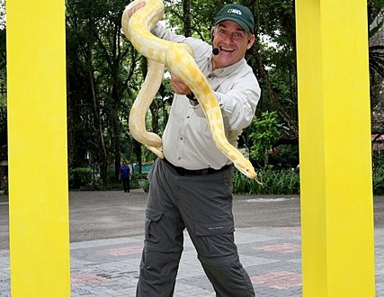 Bersama Dr Brady Barr dari Nat Geo Wild Di Zoo Negara