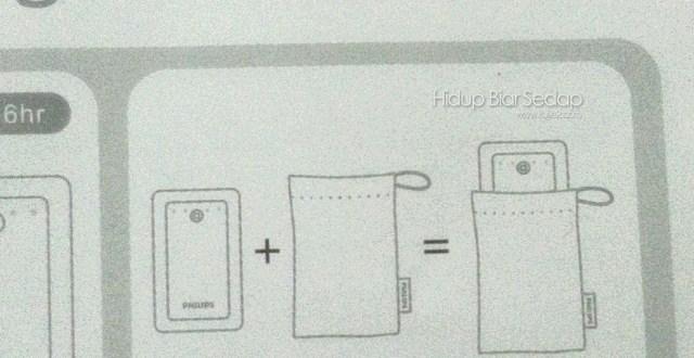 Cara Masukkan Power Bank Dalam Pouch