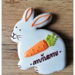 Medovníkový zajac s mrkvou