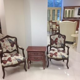 Stilska fotelja Luj XV