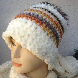 Zimska kapa Baš me briga I / Slouch hat-cap