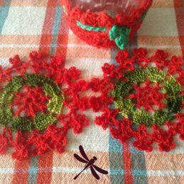 Heklani podmetači za čaše / Crocheted cup coaster