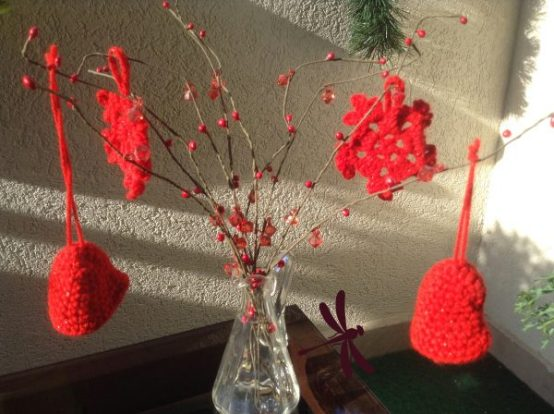 Ukrasi RADOST / Christmas Decoration RED