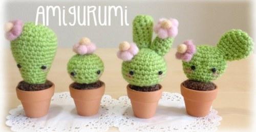 uradi sam amigurumi kawaii kaktus