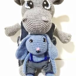 igracke nilski konj i plavi zec