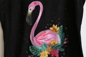 majica flamingo
