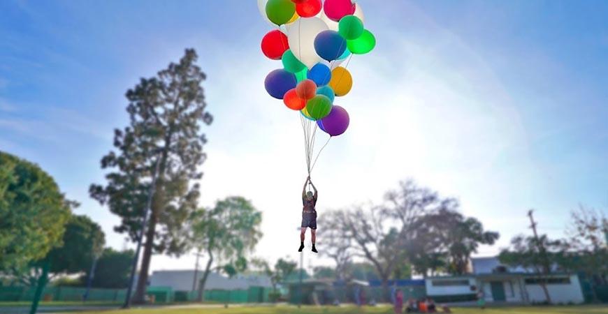 kako napraviti stub od balona
