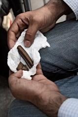 Pakistani drugdealer in Barcelona, 2010.