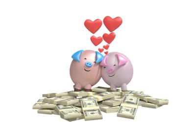 Omat vai yhteiset rahat avioliitossa