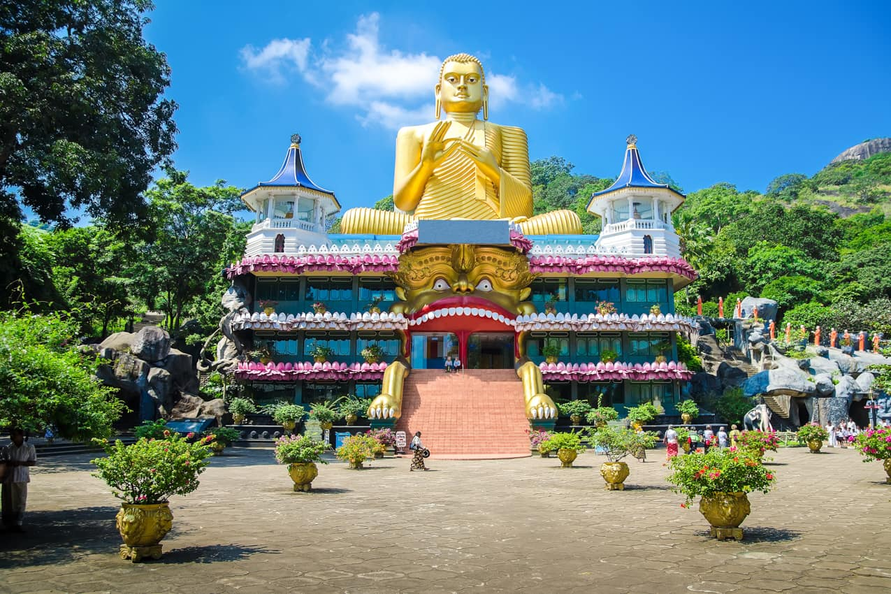 Foto: Zlatý chrám Dambulla