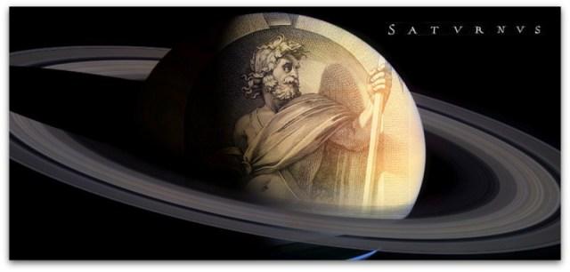 Сатурн, бог на смртта и на времето.
