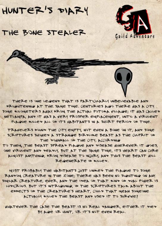 Hunter's diary: Bonestealer