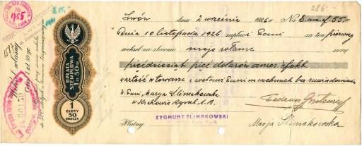 Weksel z 1926 r.