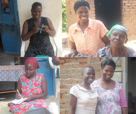 Photos of Abuyadaya women taken by Shoshanna Nambi for her research project on the empowerment of women in the community