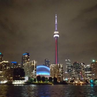 Toronto Night Sky