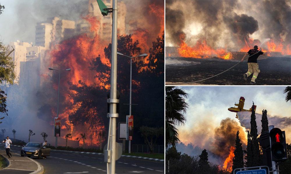 Israel dilanda kebakaran besar, Netanyahu minta bantuan antarabangsa