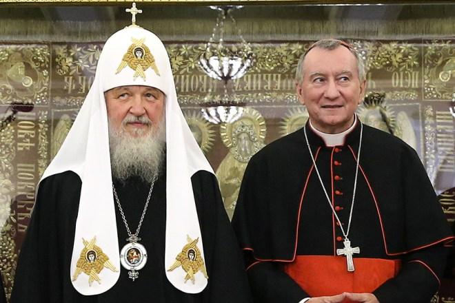 Обновленец-патриарх РЕПОЦ и кардинал Паролин