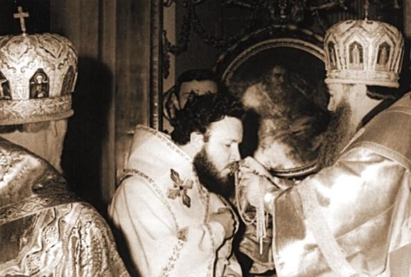 Хиротонизация в епископа Гундяева