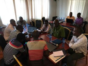 training workshop in Mongu
