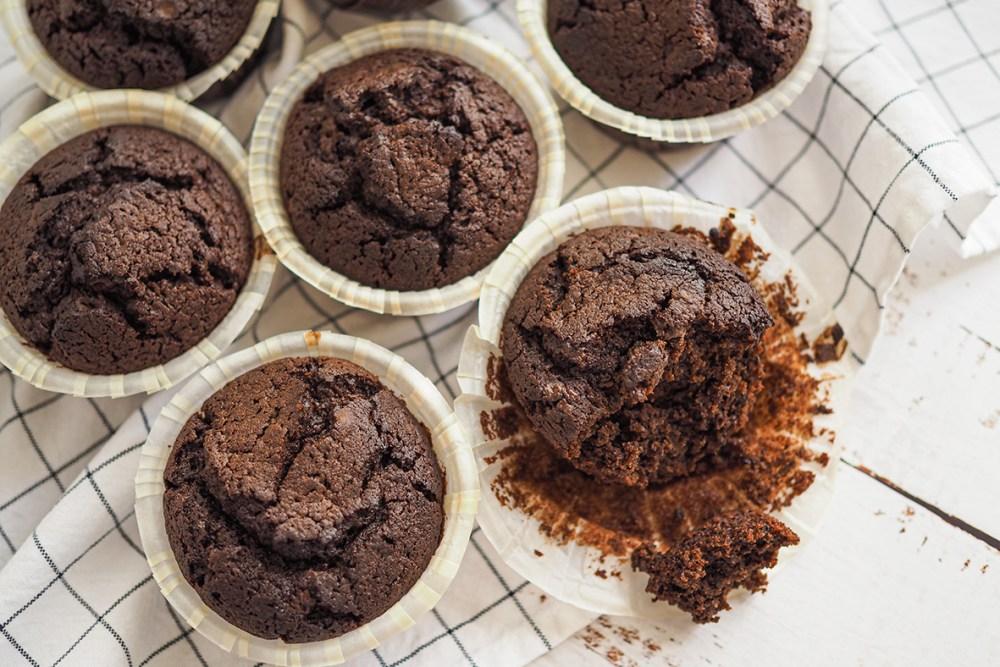 Supersuklaiset maailman parhaat suklaamuffinit
