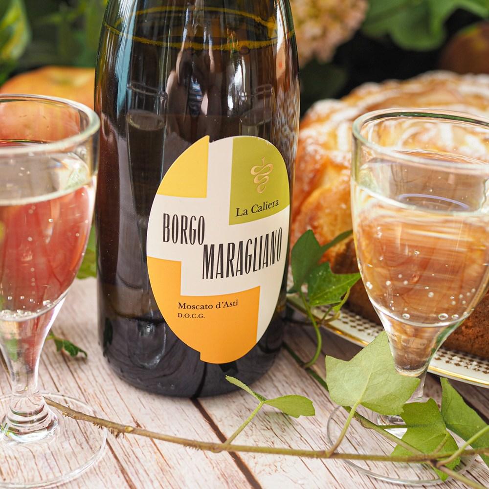 Borgo Maragliano La Caliera Moscato d´Asti -jälkiruokaviini Viinilinnalta