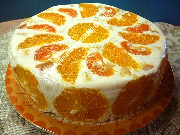 всех желейный торт с бисквитом и фруктами фото так выглядит турнирная