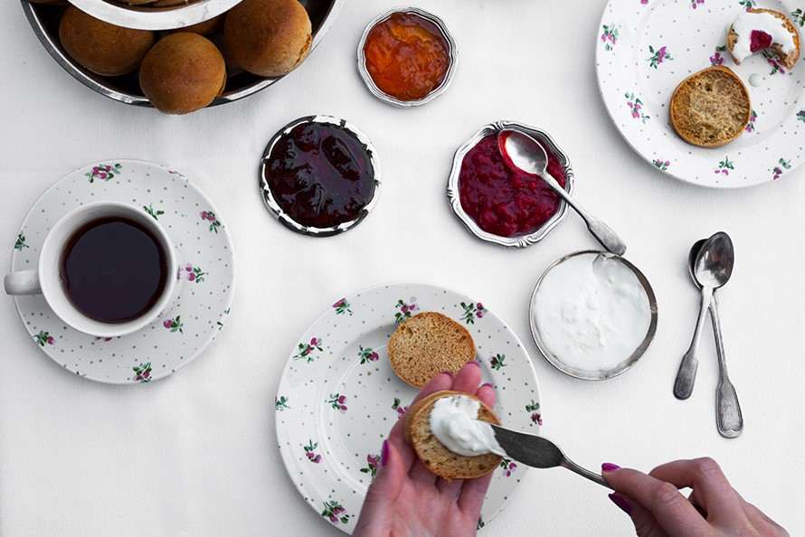 Scones & Clotted Cream- I hope you're feeling happy now…