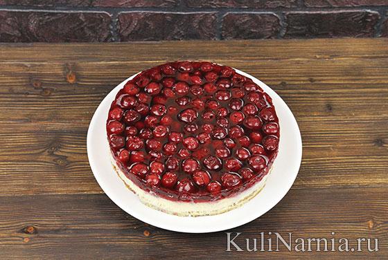 Cheesecake z wiśnią
