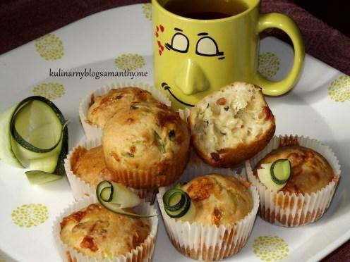 Muffinki z cukinii