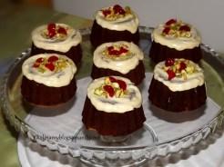 Babeczki żurawinowe z białą czekoladą